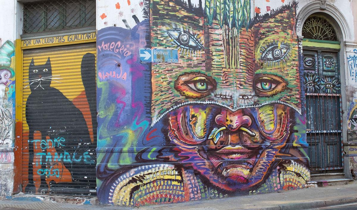 Mural San Telmo Buenos Aires