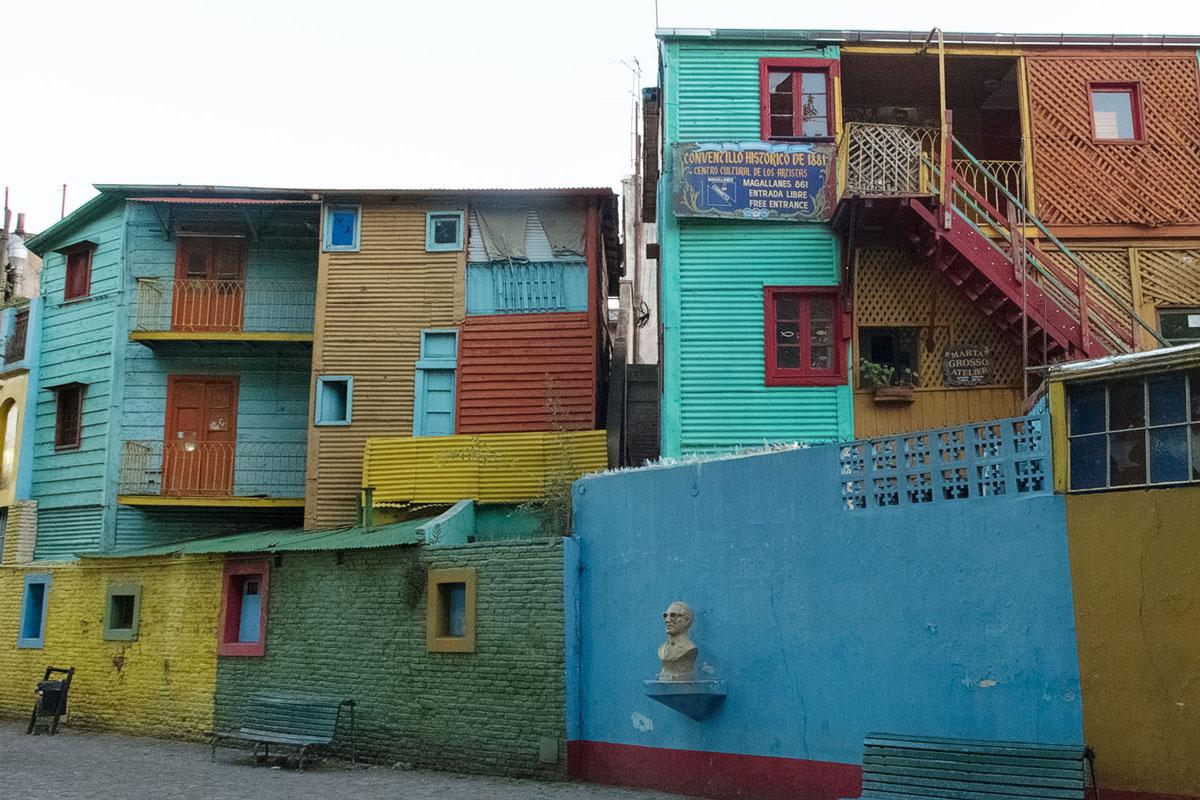 Rue Boca peinture couleur