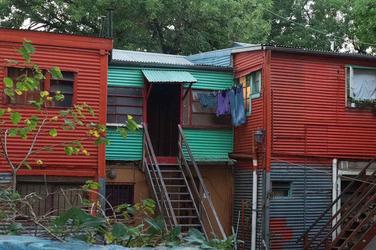 Maison Boca Conventillo peinture couleurs