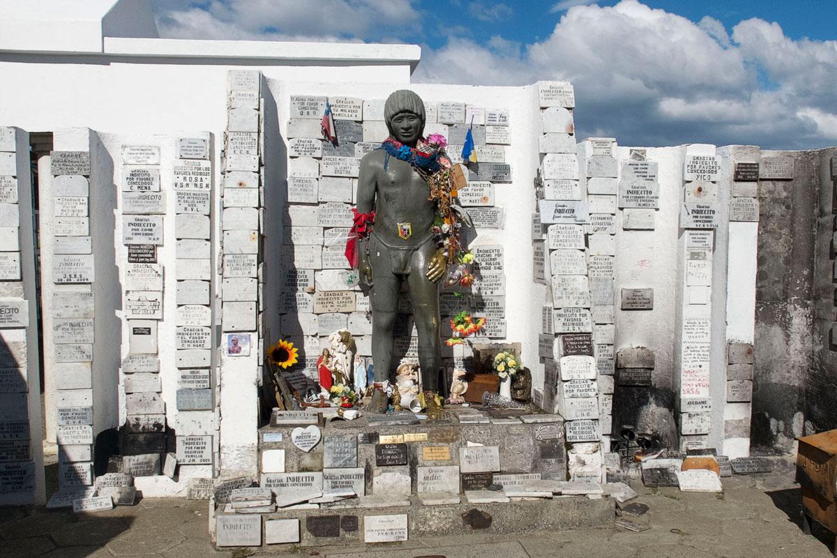 Punta Arenas indio cementerio