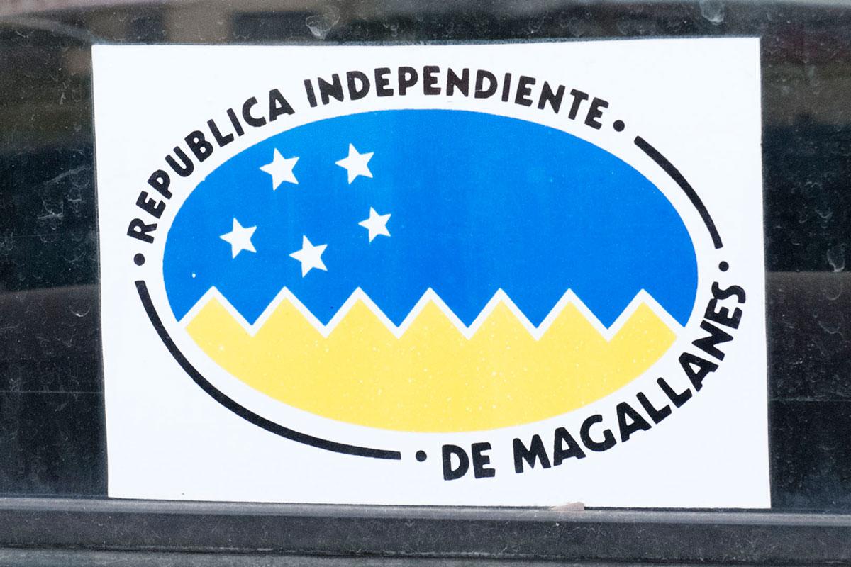 Chili Sticker Republica independiente de magallanes