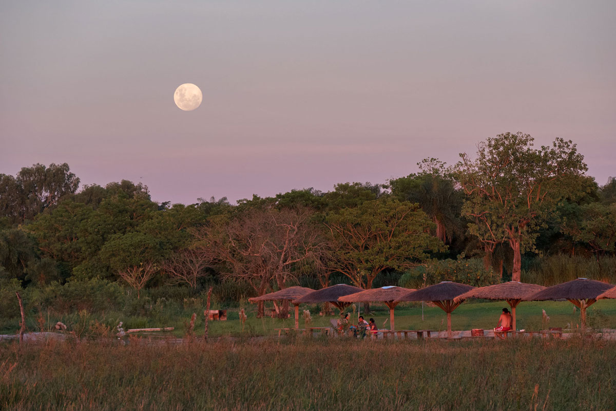 Laguna blanca paraguay san pedro clair de lune