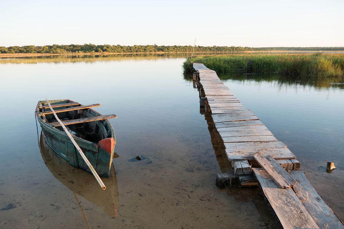 Laguna Blanca, du sable blanc au Paraguay