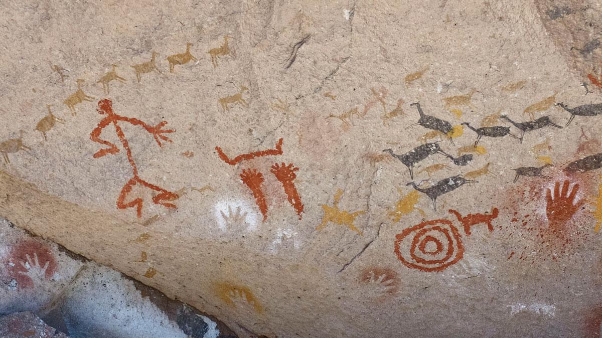 Argentina Cueva de las manos pintura rupestre
