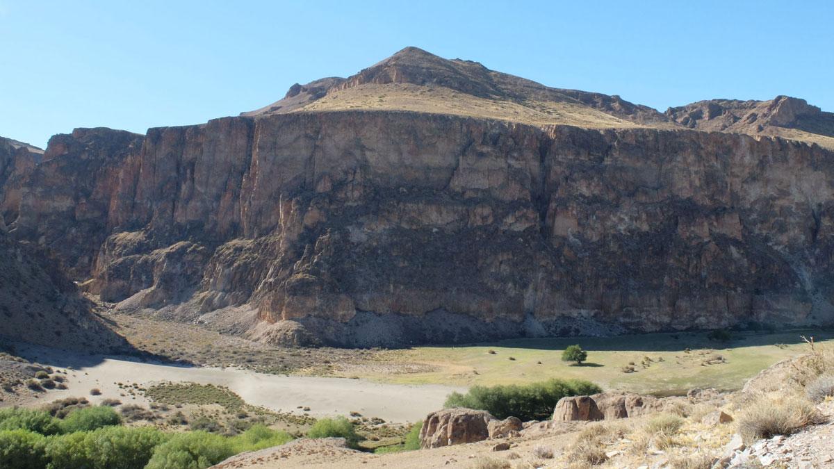 Argentina Cueva de las manos Cañadón río Pinturas