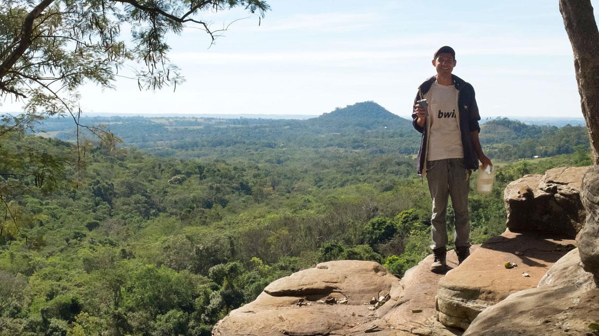 Paraguay Ybytyruzú sereno salto suizo