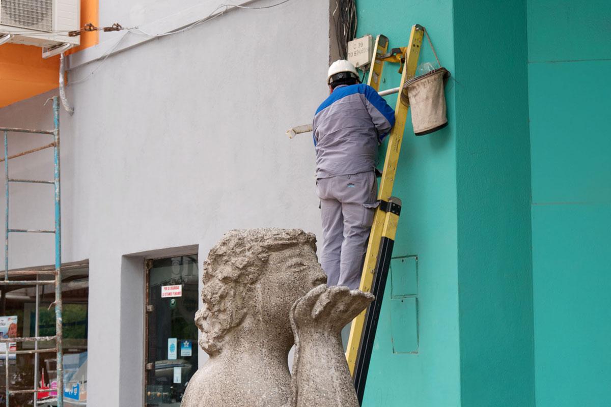 Resistencia chaco argentina escultura escala obrero