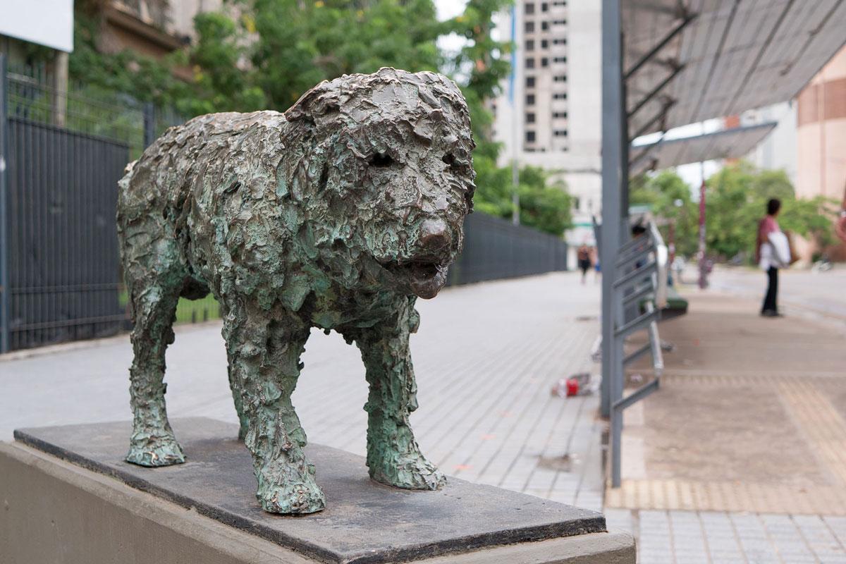 Resistencia chaco argentina escultura perro Fernando