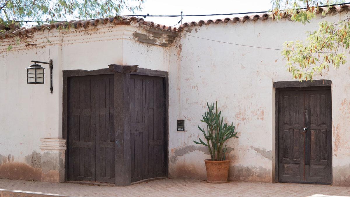 San Carlos maison coloniale double porte angle