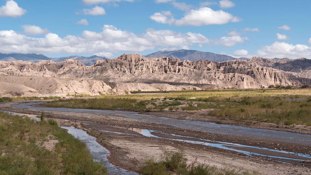 Salta Argentina Ruta 40Río Las Viñas