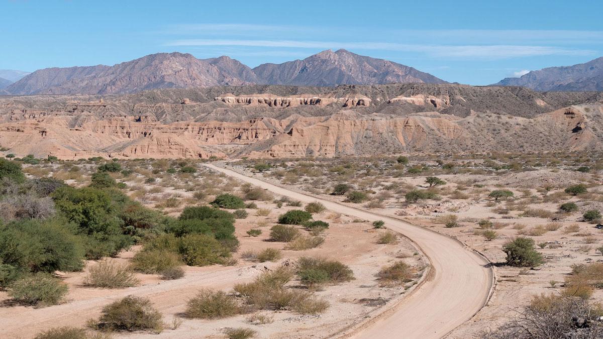 San Martin Salta Argentina Ruta 40
