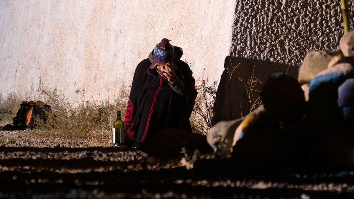 Inti Raymi Huacalera Homme Ivre