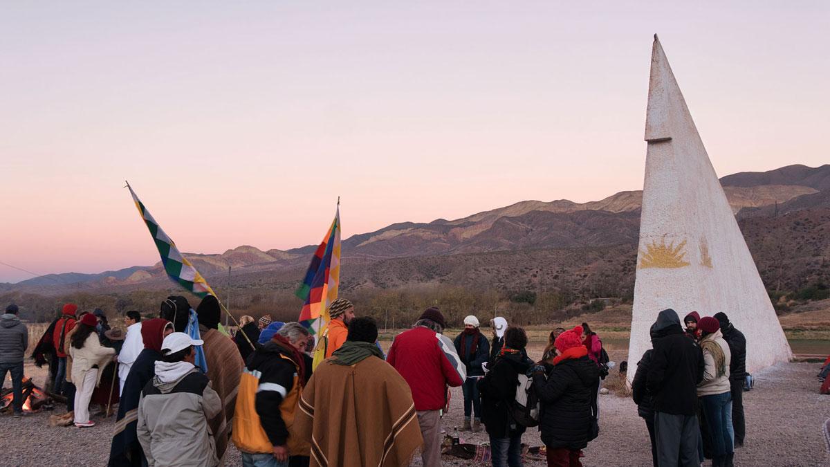 Inti Raymi Huacalera Rassemblement matin