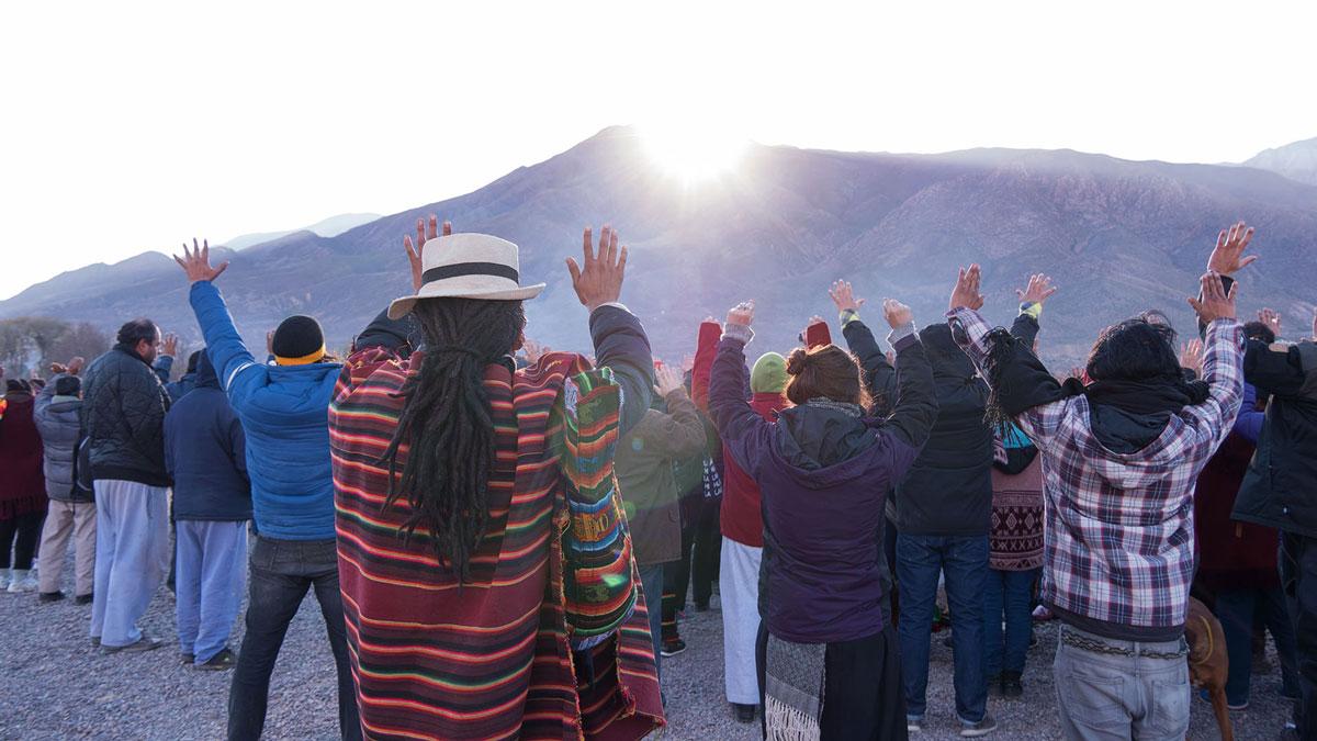 Inti Raymi Huacalera Prières lever du soleil