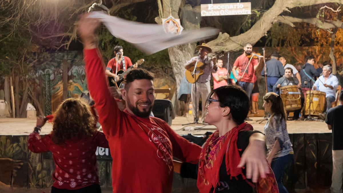 Santiago del Estero Patio Indio Froilan danseurs zamba