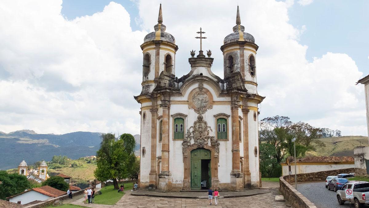 Ouro Preto Église Saint-François-d'Assise