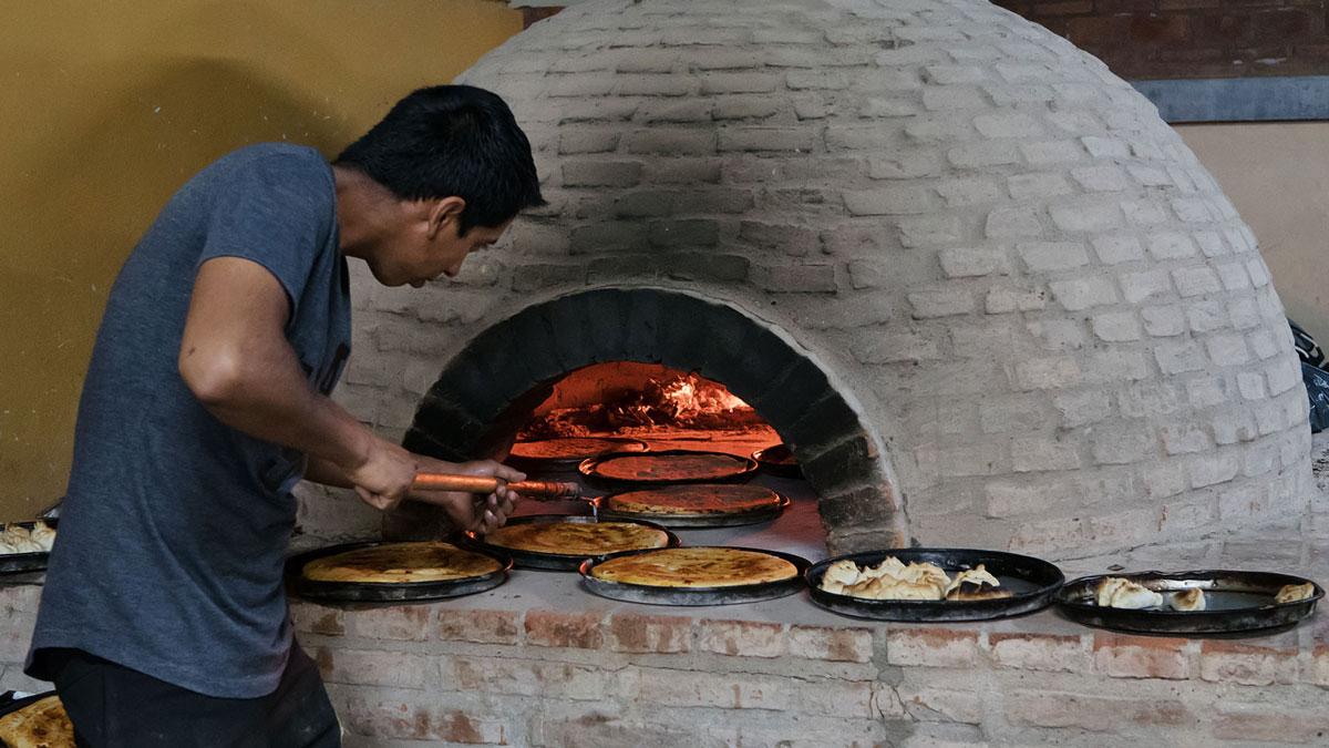 Santiago del Estero Patio Indio Froilan four terre cuite