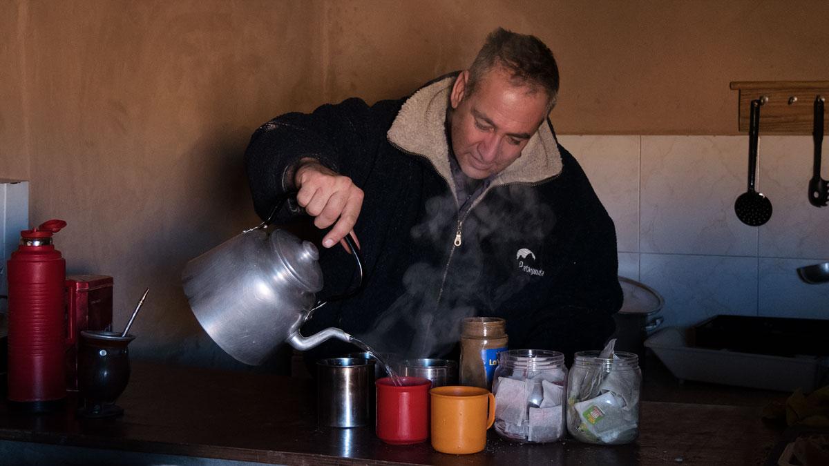 Pasto Ventura Mauricio thé