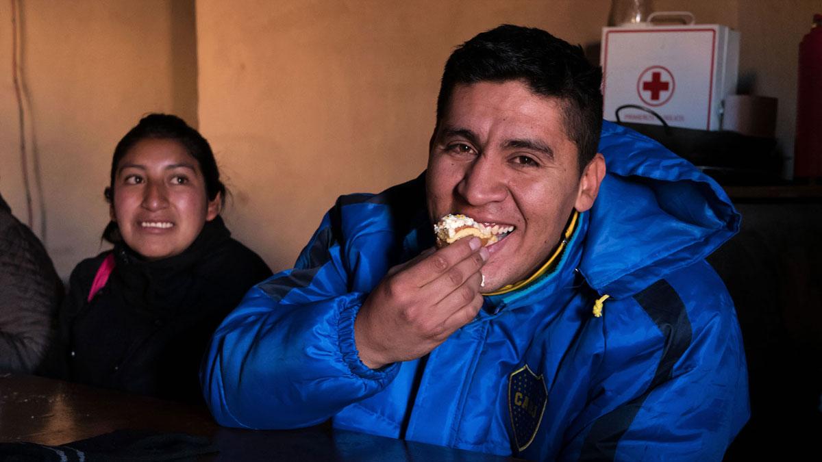 Pasto Ventura Petit-déjeuner gâteau d'anniversaire