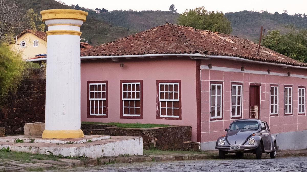 Rue Ouro Preto voiture