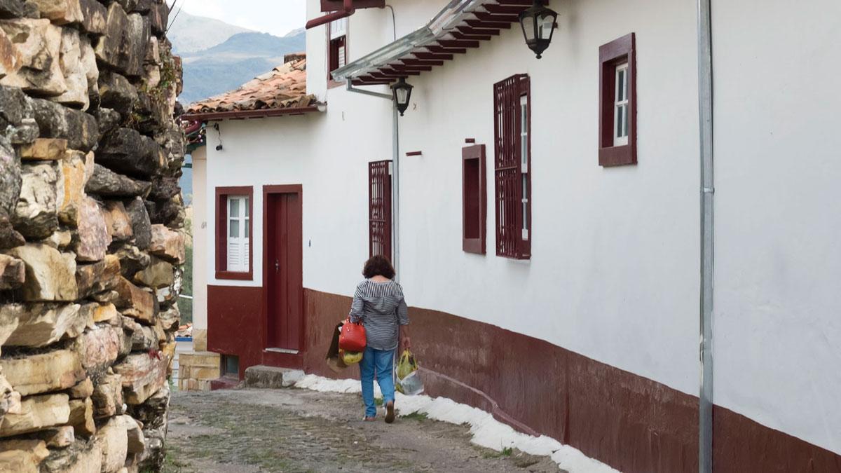 Ouro Preto Ruelle Rue Pavée