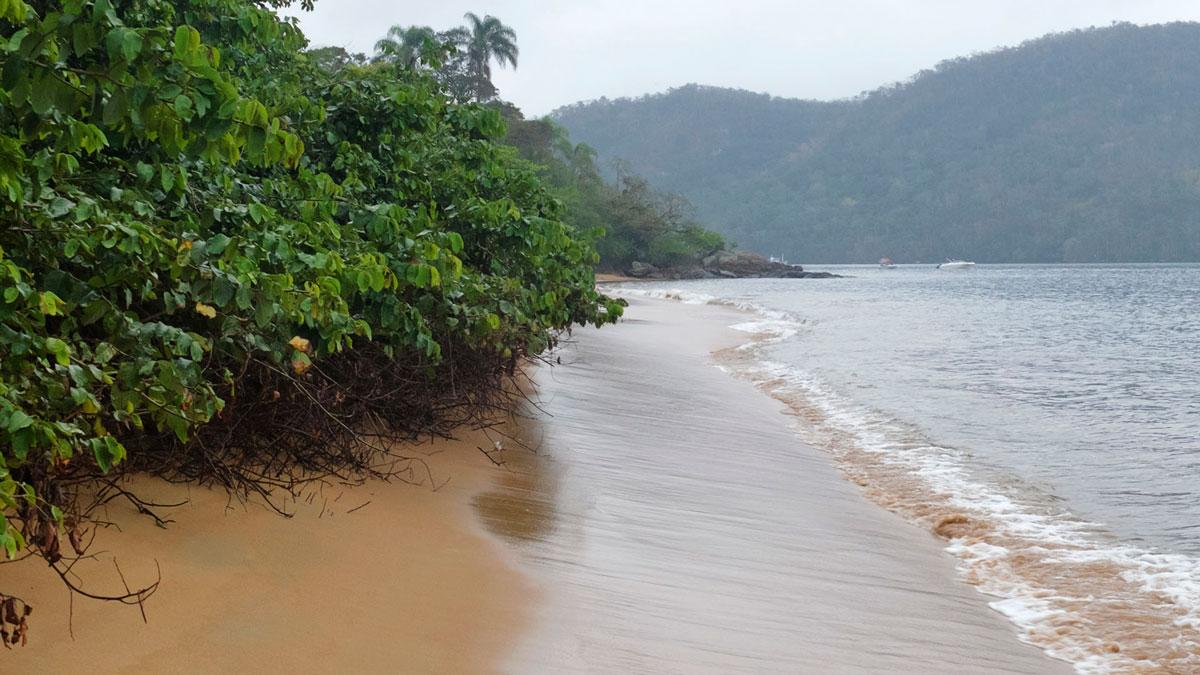 Ilha Grande chemin côtier