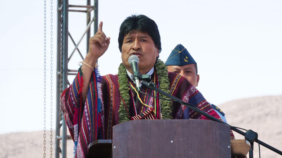 Evo Morales fête la révolution agraire