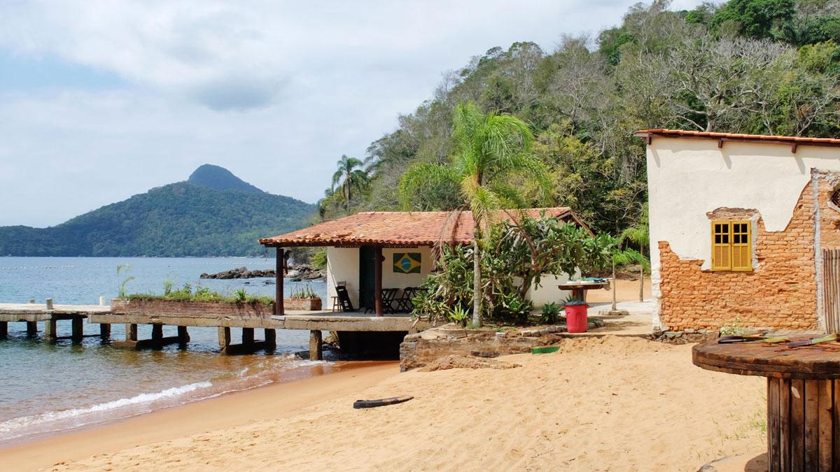 Ilha Grande bar Praia Vermelha