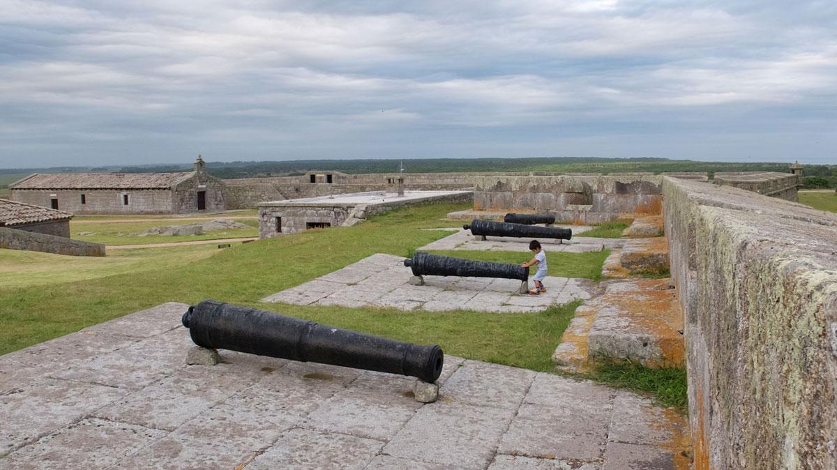 Parc Santa Teresa Uruguay forteresse canons