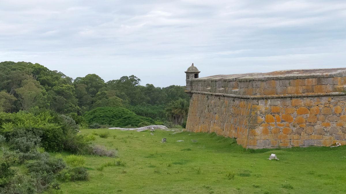 Parc Santa Teresa Uruguay forteresse