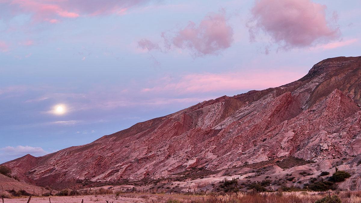Parc National Los Cardones lever du soleil