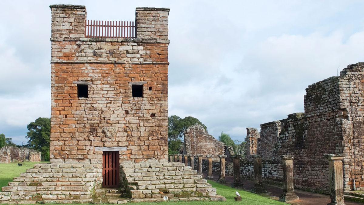 Mission jésuite guarani trinidad mirador