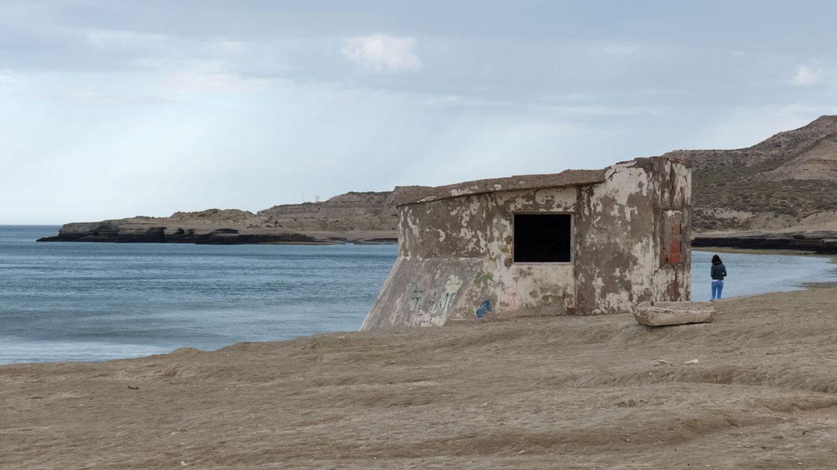 Peninsula Valdès Bunker côte puerto piramides