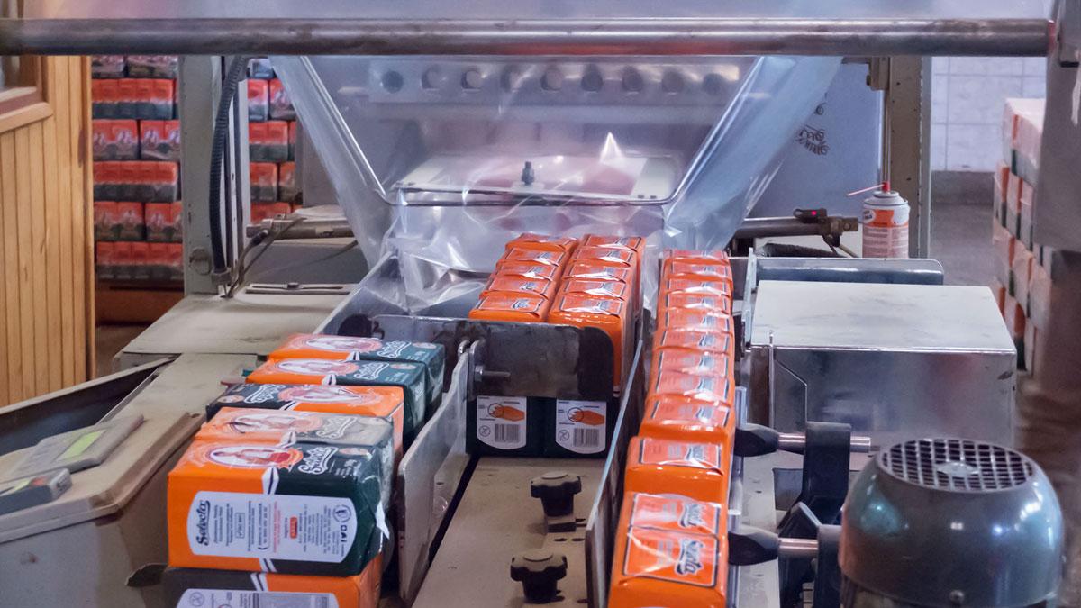 Paraguay Selecta machine emballage paquet yerba maté