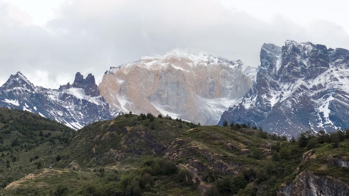 Torres del Paine montagnes couleurs