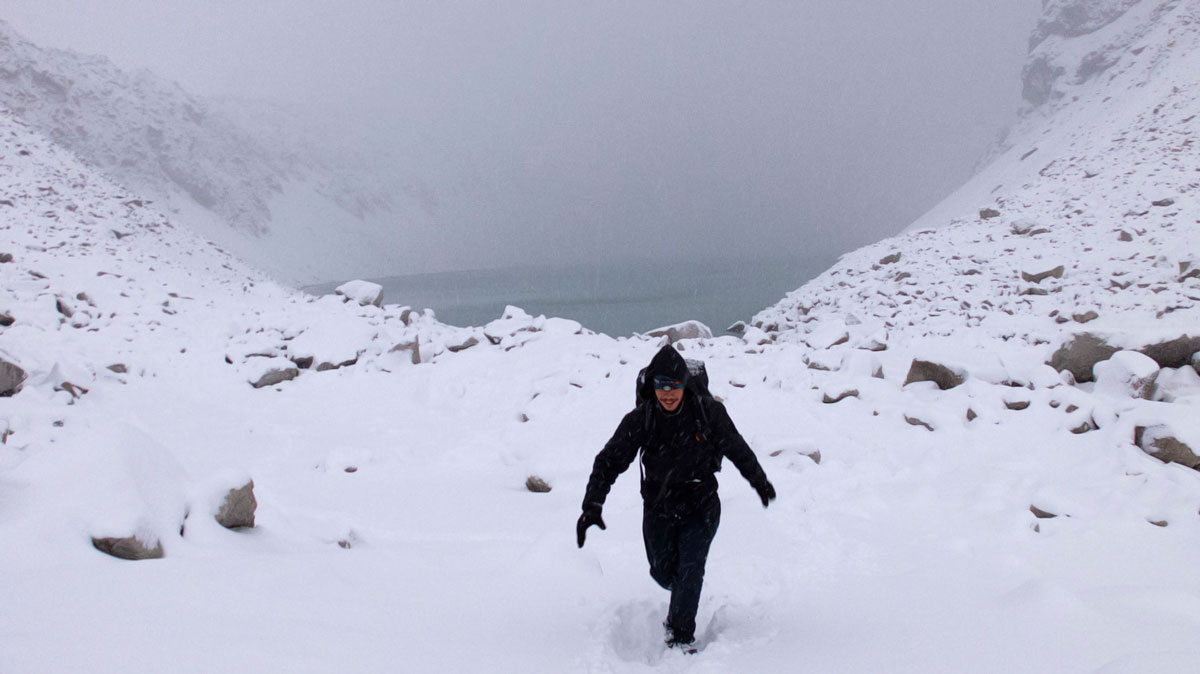 Torres del Paine neige
