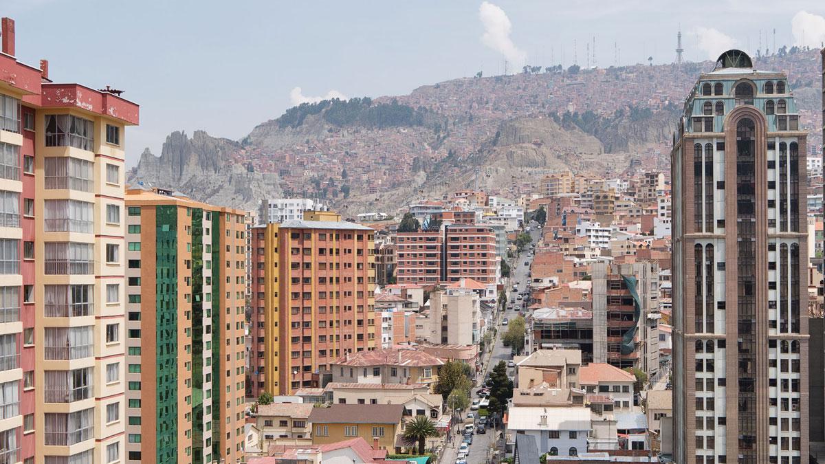 La Paz Bolivie rue gutierrez