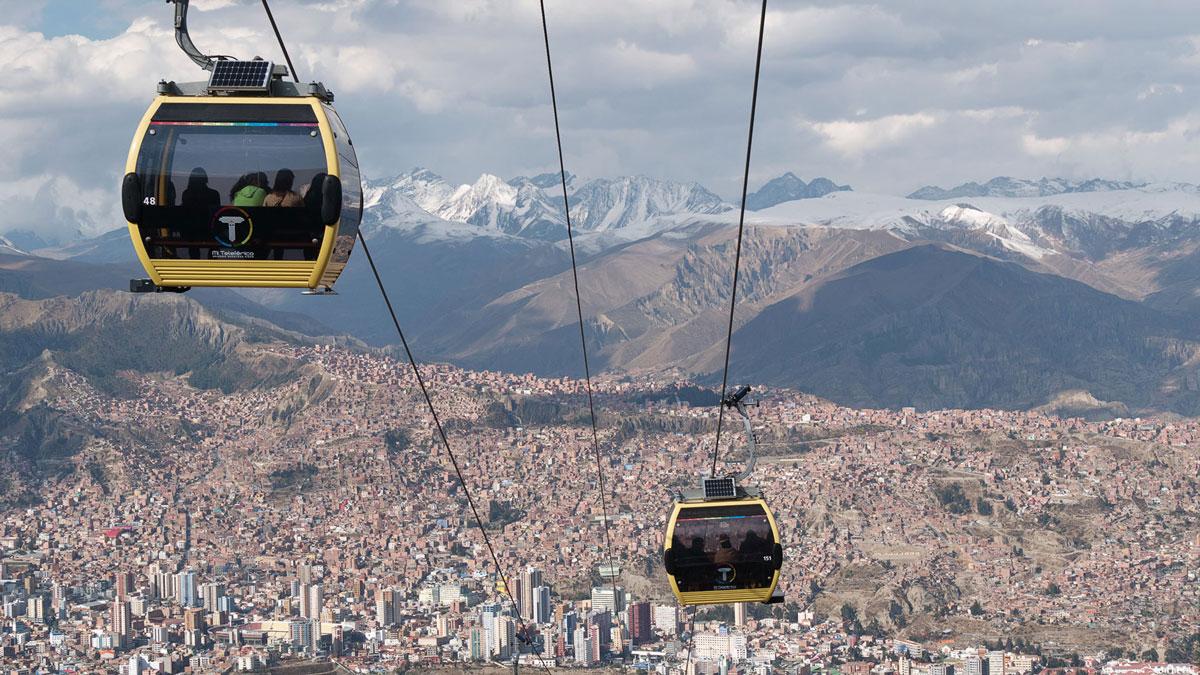 La Paz, une ville au sommet !