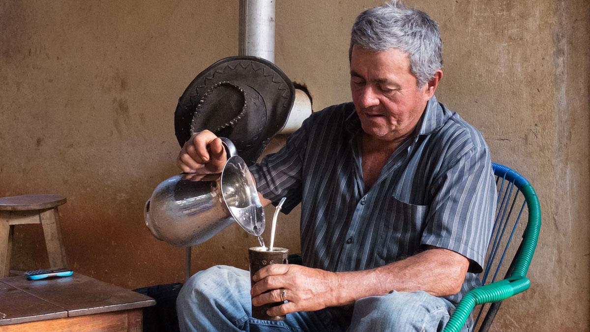 Paraguay gastronomie oscar boit tereré