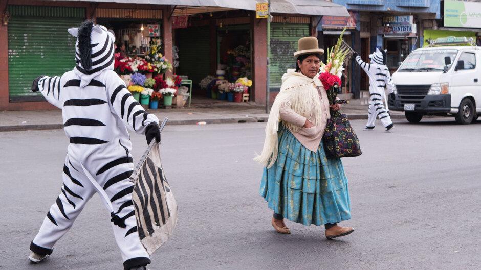 La Cholita, cliché bolivien
