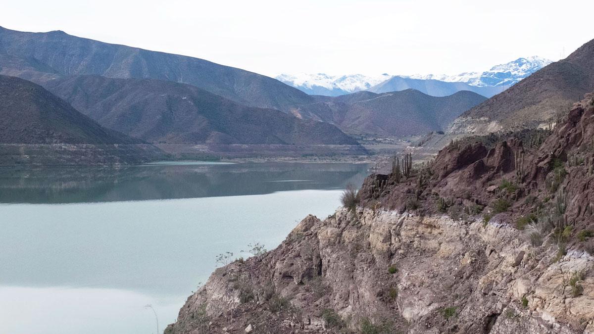 Chili Valle del Elqui embalse puclaro