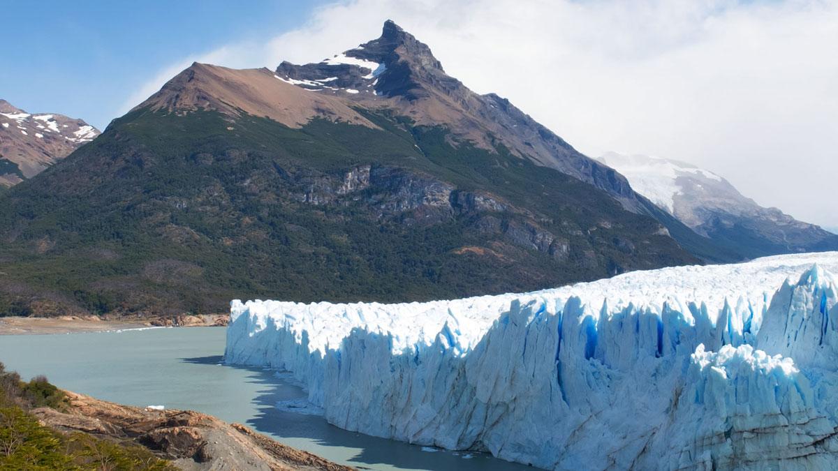 Argentine Glacier Perito Moreno Sommets