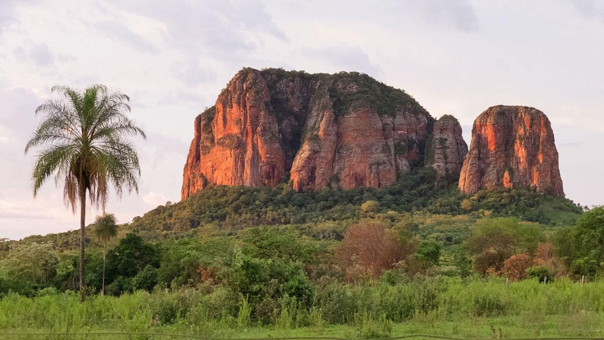 Paraguay Cordillera Amambay Cerro Memby