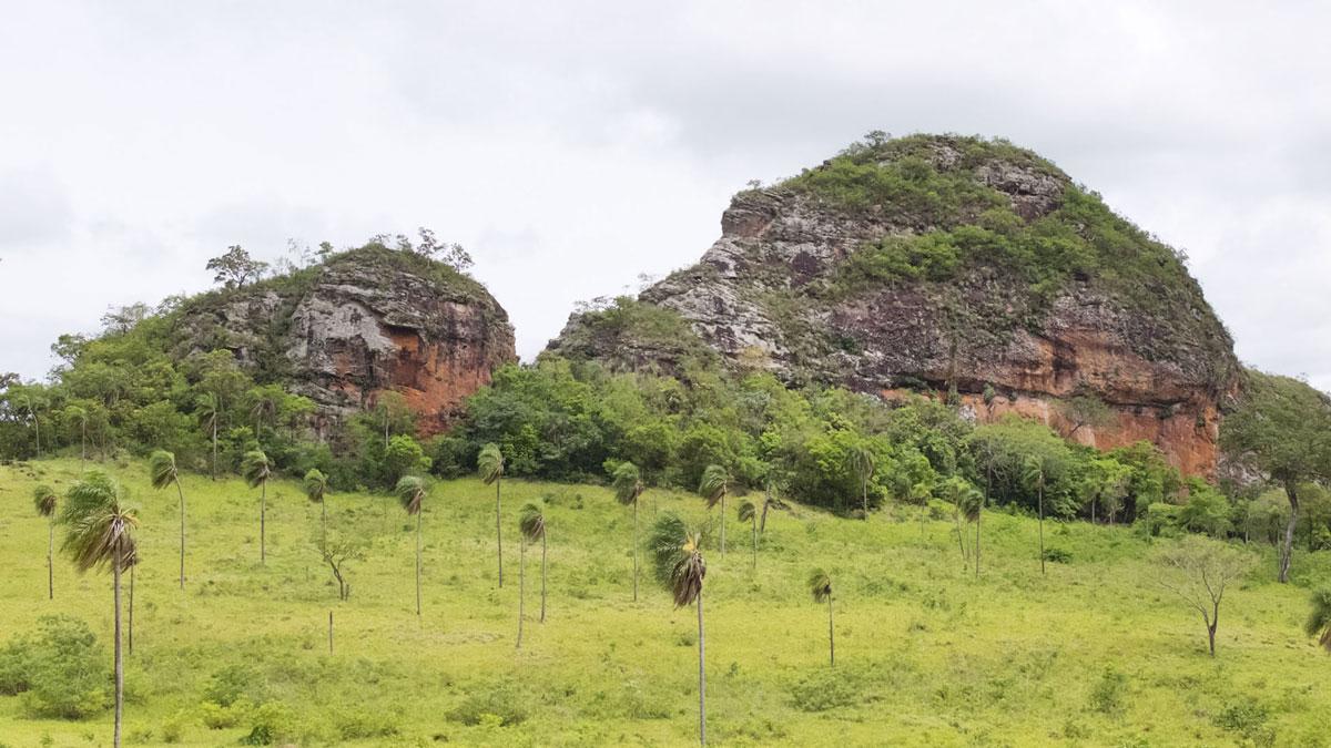 Paraguay Cordillera Amambay sommets
