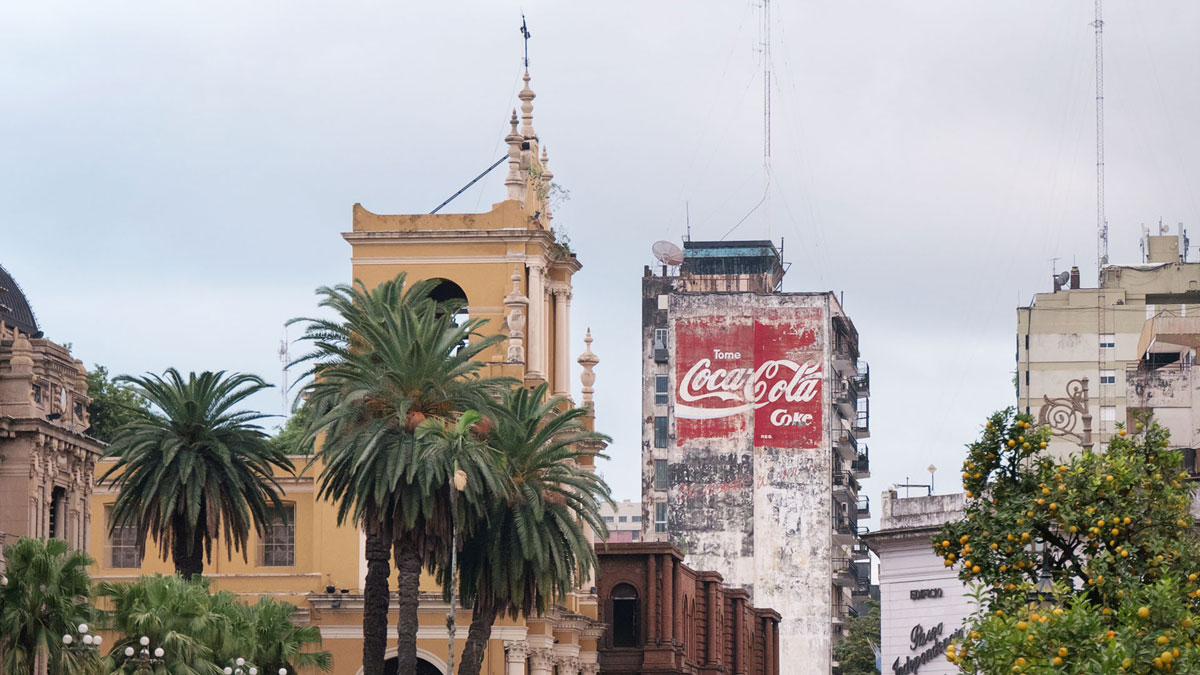 Argentine Tucuman Street Photography centre ville