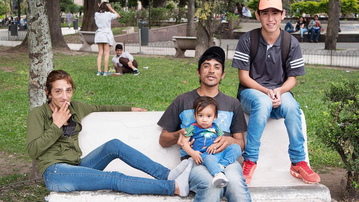 Argentine Tucuman Street Photography famille