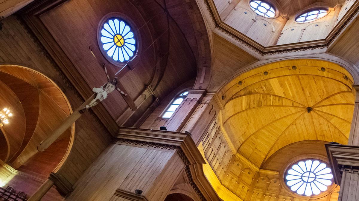 Chiloé Église Castro Intérieur