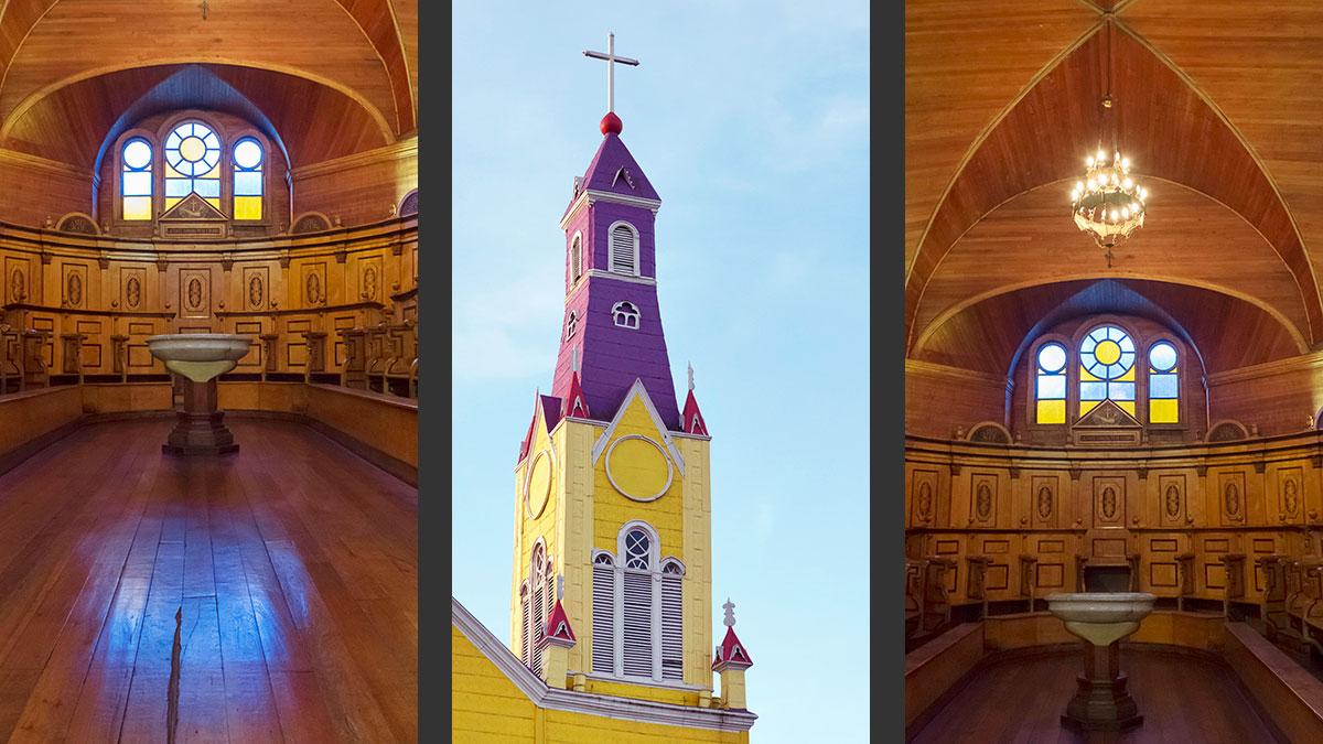Chiloé Église Castro