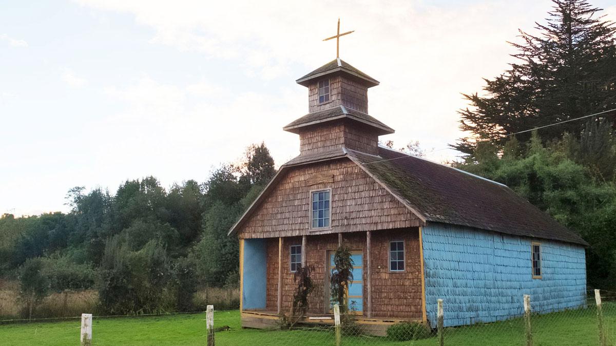 île de Chiloé Église Quellón Vieja