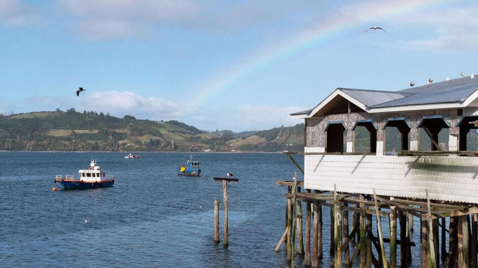 Île de Chiloé : nature, églises et pilotis…